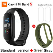 Gym Accessories Online CN Mi Band 5 And 1 Xiaomi Mi Band 5 Bluetooth Smart Wristband Color AMOLED Screen