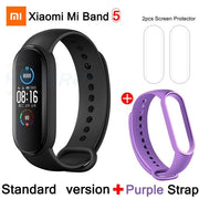 Gym Accessories Online CN Mi Band 5 And 5 Xiaomi Mi Band 5 Bluetooth Smart Wristband Color AMOLED Screen