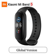 Gym Accessories Online Mi Band 5 GB Xiaomi Mi Band 5 Bluetooth Smart Wristband Color AMOLED Screen