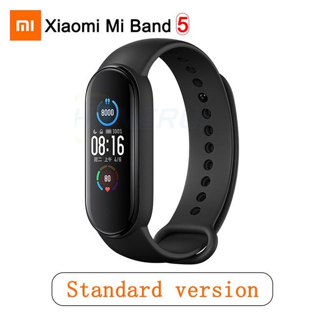 Gym Accessories Online Mi Band 5 CN Xiaomi Mi Band 5 Bluetooth Smart Wristband Color AMOLED Screen