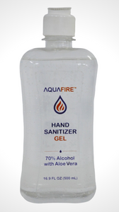 Aquafire Flip Cap Bottle Gel 500mL