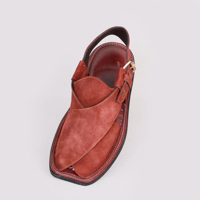 Traditional Suede Maroon