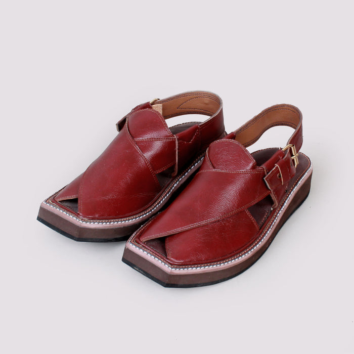 Kaptaan Leather Red