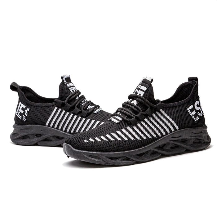 Running Sports Sneakers Shoes Black