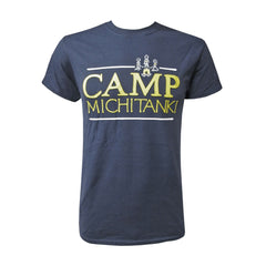 UM Transplant Camp Michitanki Tee - Navy