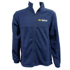 UM Transplant Embroidered Logo Fleece - Navy