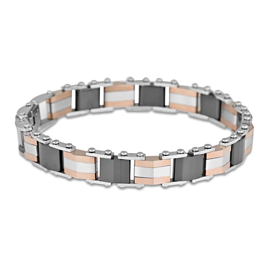 Load image into Gallery viewer, Ceramic stainless steel bracelet 7mm 20cm adjustable length