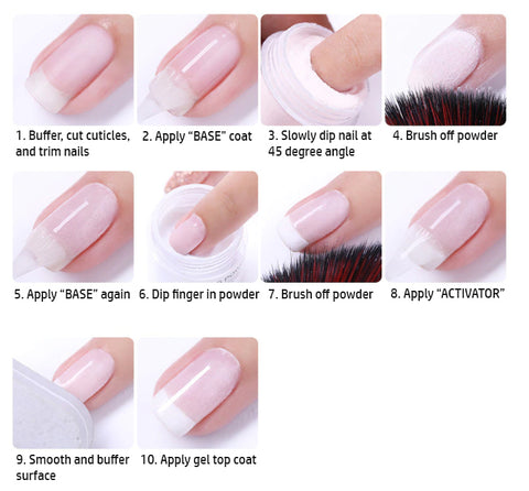 How To Apply Dip Nail Polish Tutorial Staff Account Need Help Appl