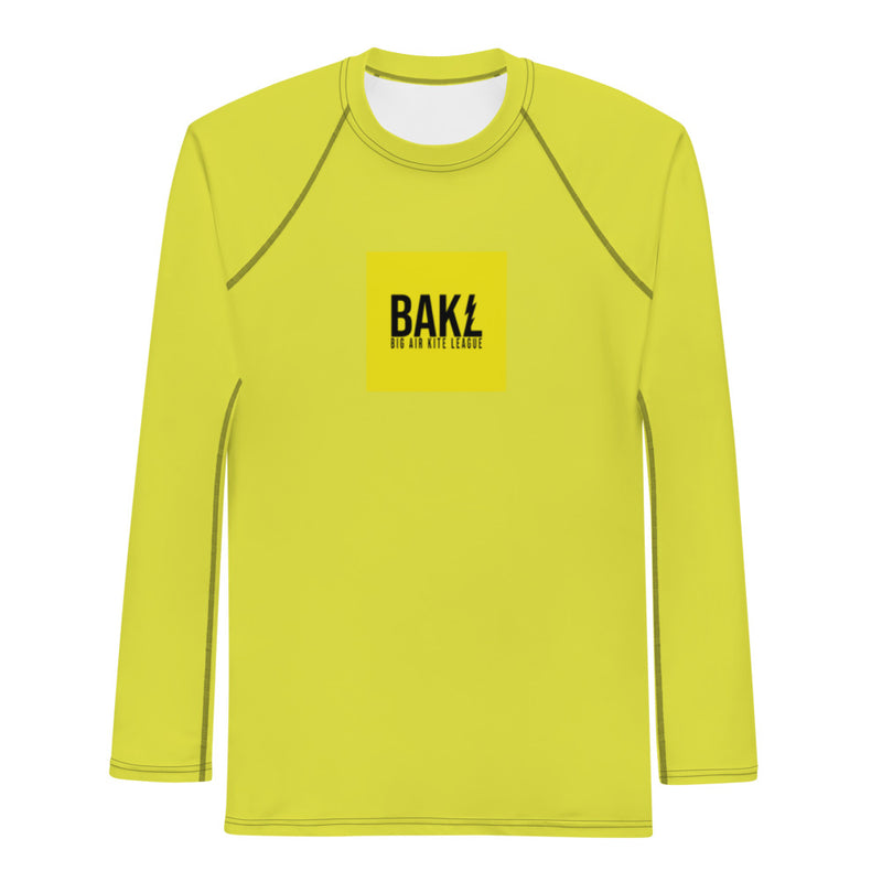 Yellow BAKL Rashguard