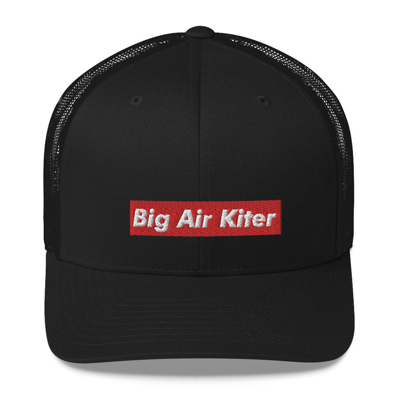 Big Air Kiter | Peak cap | Black