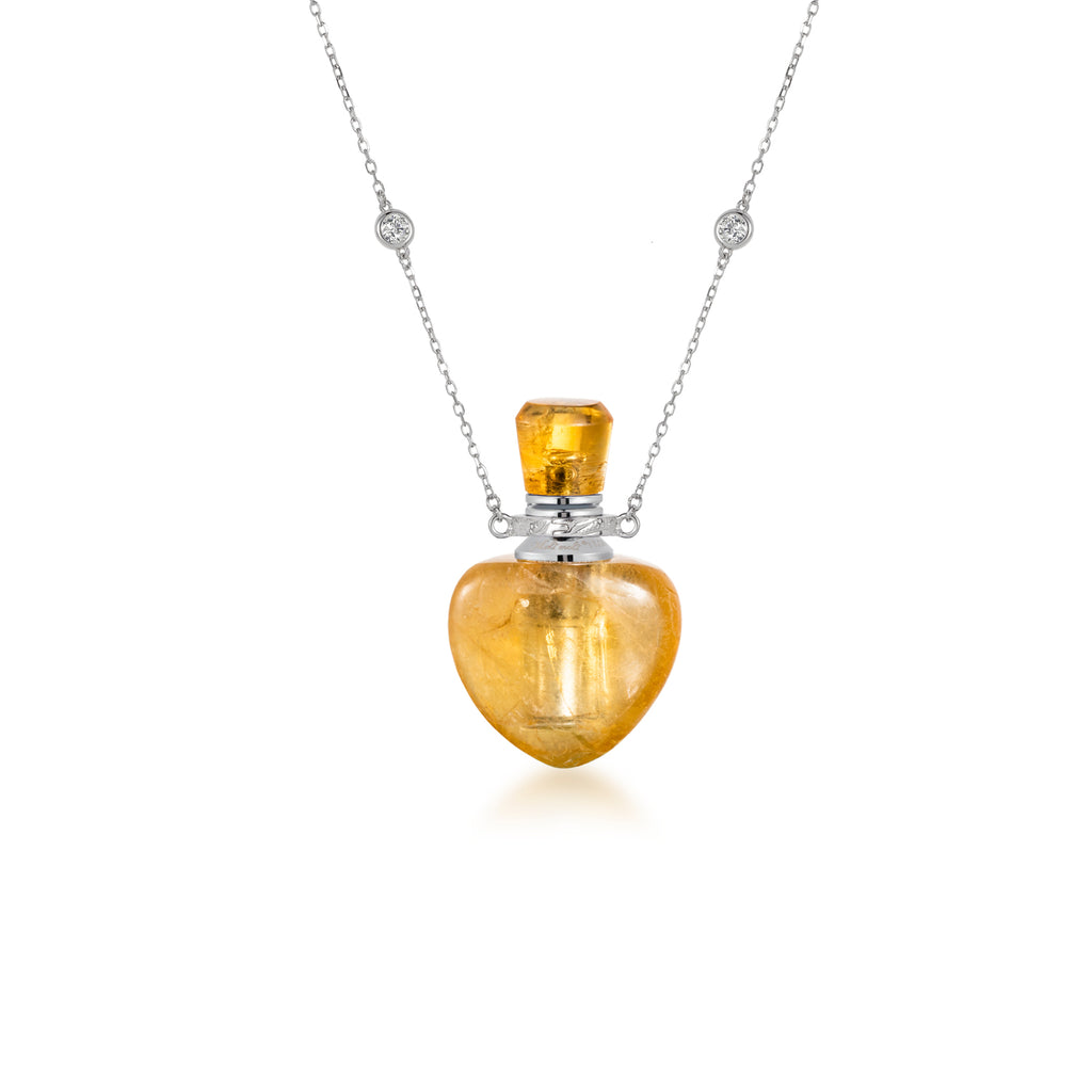 ORACLE | Citrine Sterling Silver Necklace