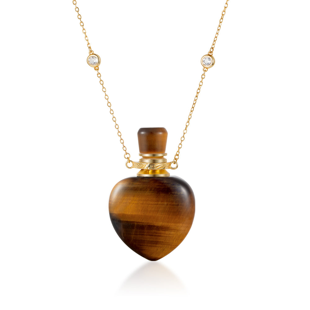 ACUMEN | Yellow Tiger Eye Gold Plated Necklace