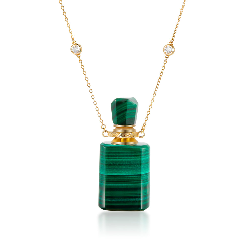 SONDER | Malachite Gold Plated Necklace