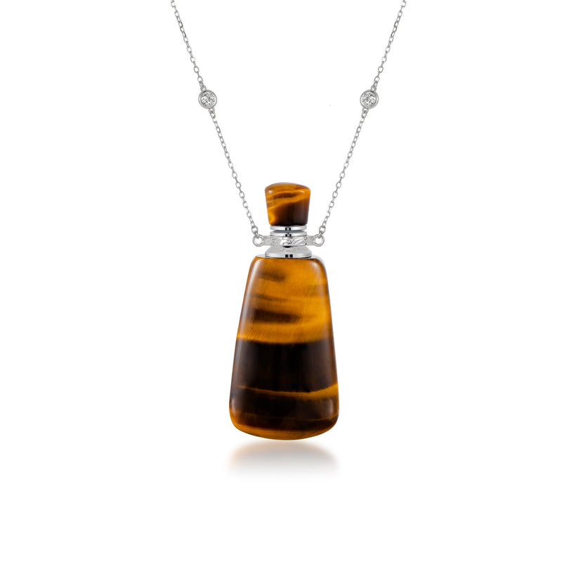 HORIZON | Yellow Tiger Eye Sterling Silver