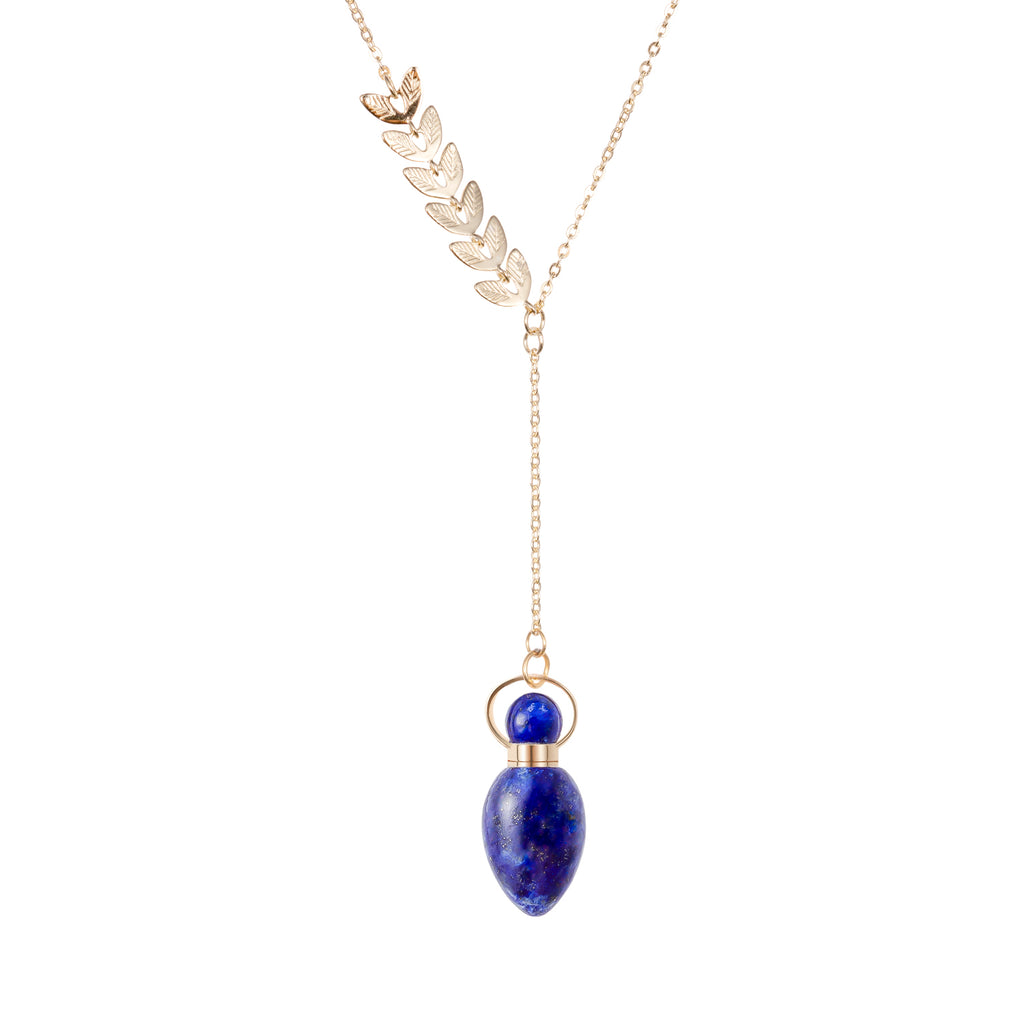 BEQUEATH | Lapis Lazuli Gold Plated Necklace