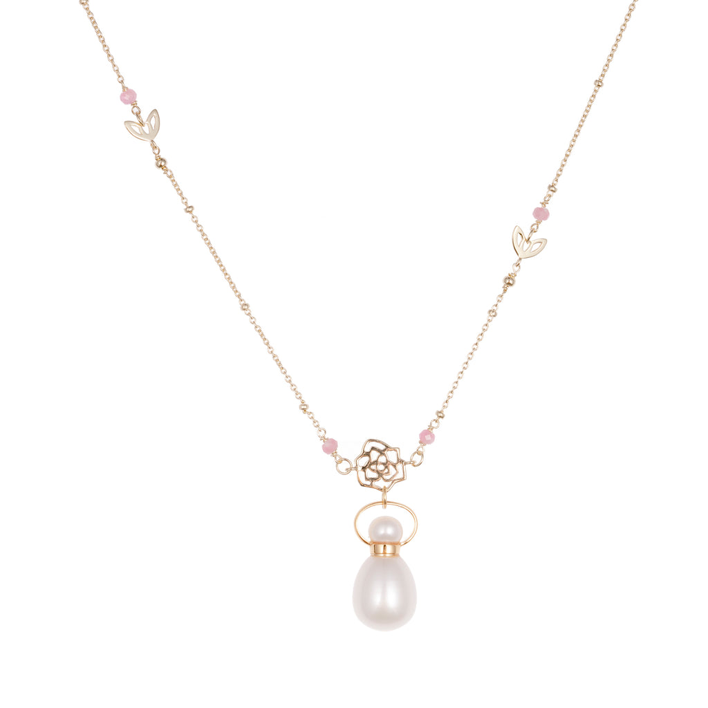 OOMPH | Pearl Gold Plated Necklace