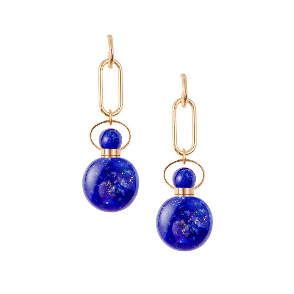 CHASMIC | Lapis Lazuli Earrings