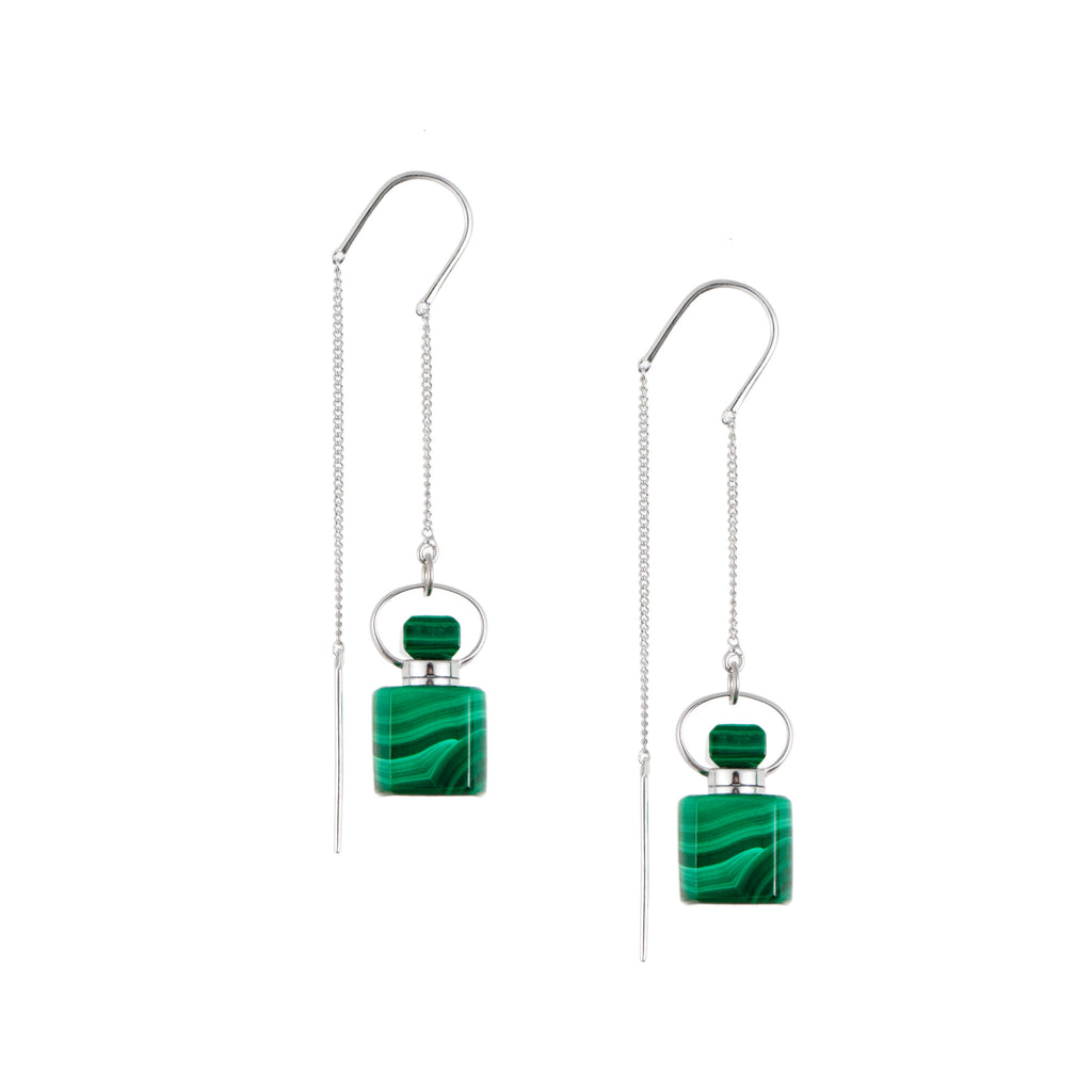REFRESH | Malachite Earrings