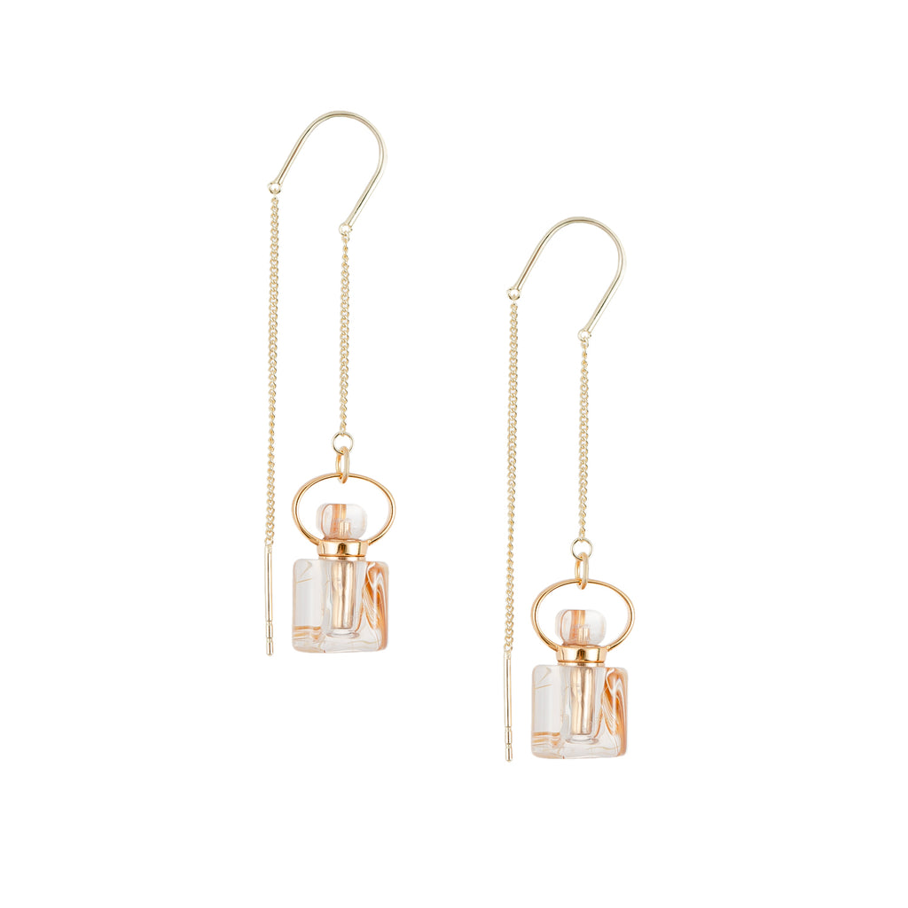 CHARISMA| Golden Rutilated Quartz Earrings