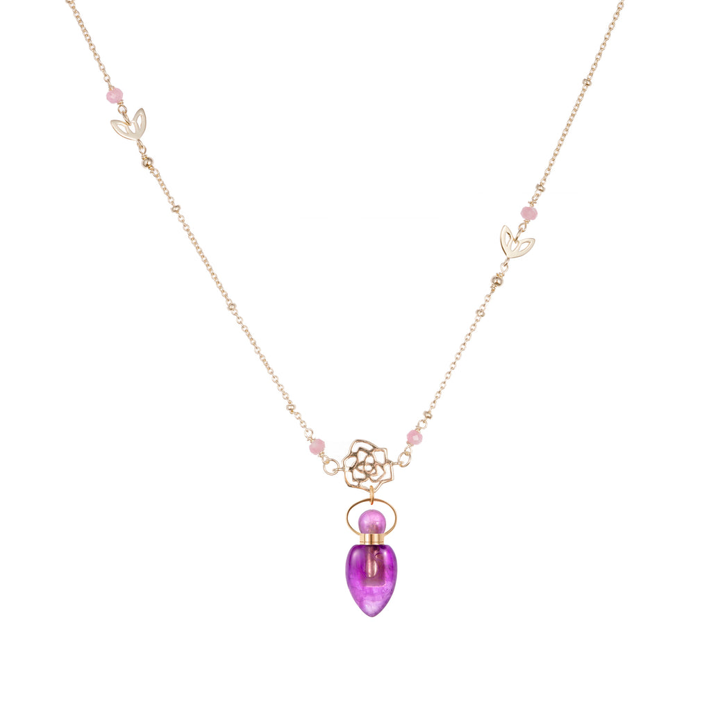 FELIX | Amethyst Sterling Silver Necklace