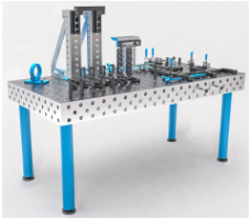 3D modular welding table