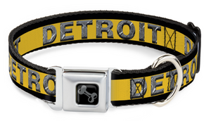 Detroit Seatbelt Collars are Best Sellers