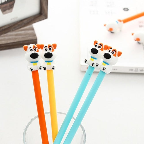 Real Cute Dog Gel Pens (2)