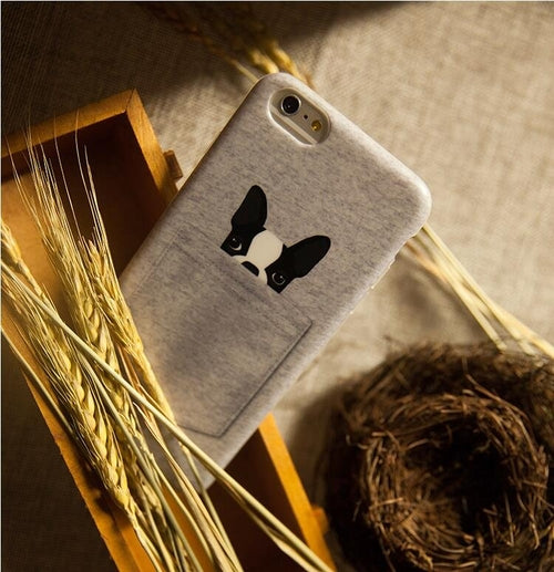 Mini Pocket Dog Case For iPhone