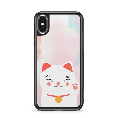 Cutie Cat - Slate iPhone Case