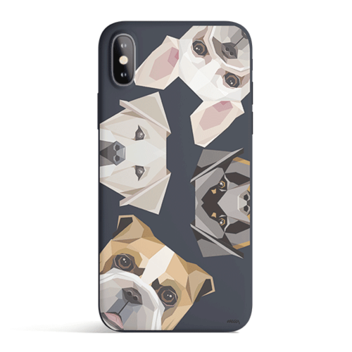 Dogs With Attitudes - Phone Case Cover