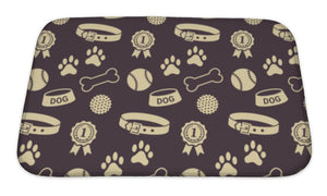 Dogs Stuff Mat or Crate Liner