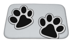 Paw Prints Icons Mat or Crate Liner