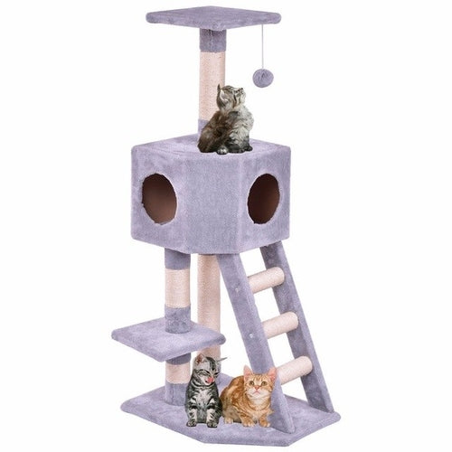 Cat House Tower Condo and Bed