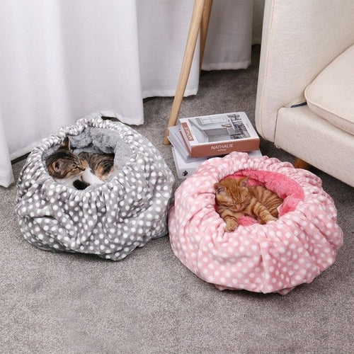 Cozy Cat Sleeping Bag Bed