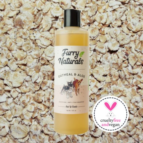 Oatmeal & Aloe Dog Shampoo 16oz