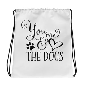 """You & Me"" Drawstring Bag"