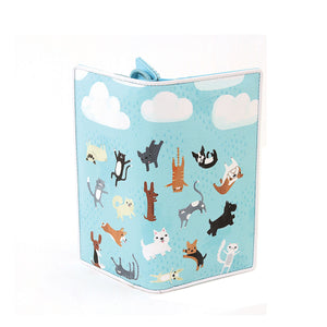 Raining Cats And Dogs Zip Around Bi-Fold Wallet