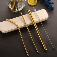 Stainless Steel Straw Set (3 straws included)
