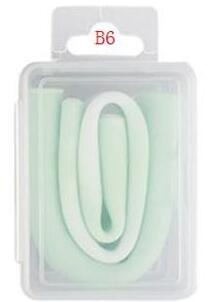 Silicone Collapsible Straw With Box