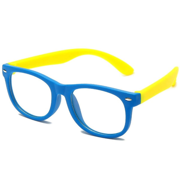 Anti blue Light Kids Glasses Children Square Optical Frame Eyeware Boy Girls Square Computer Transparent Eyeglasses UV400