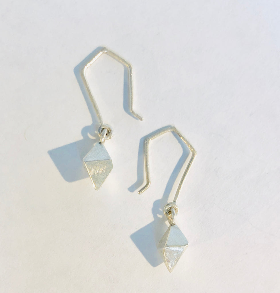 Single Diana Diamond,Earrings - didi suydam contemporary