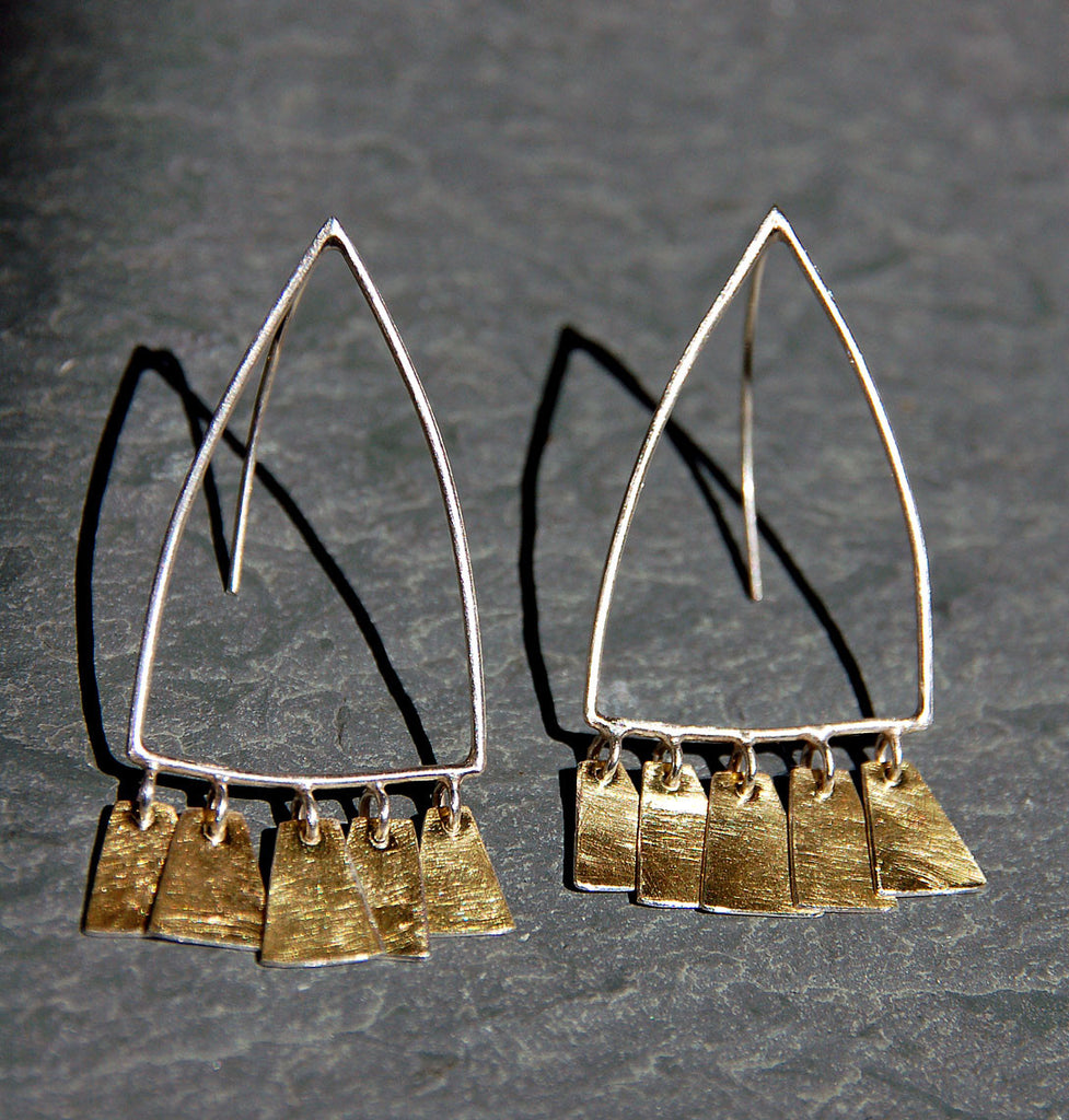 Aurora Earrings,Limited Edition Earrings - didi suydam contemporary