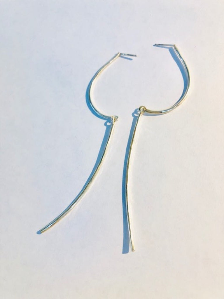 Loop Line Earring, Long