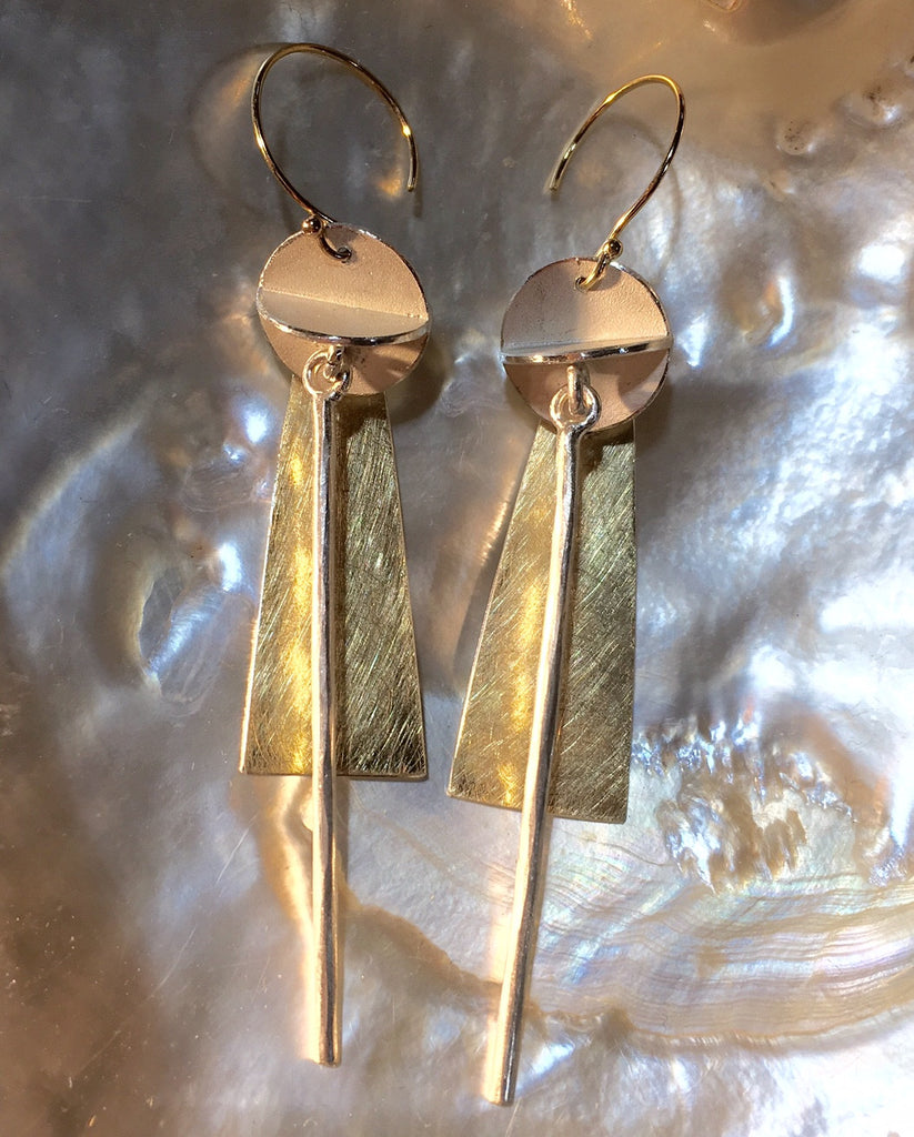 Wind Chime Earrings,Earring - didi suydam contemporary