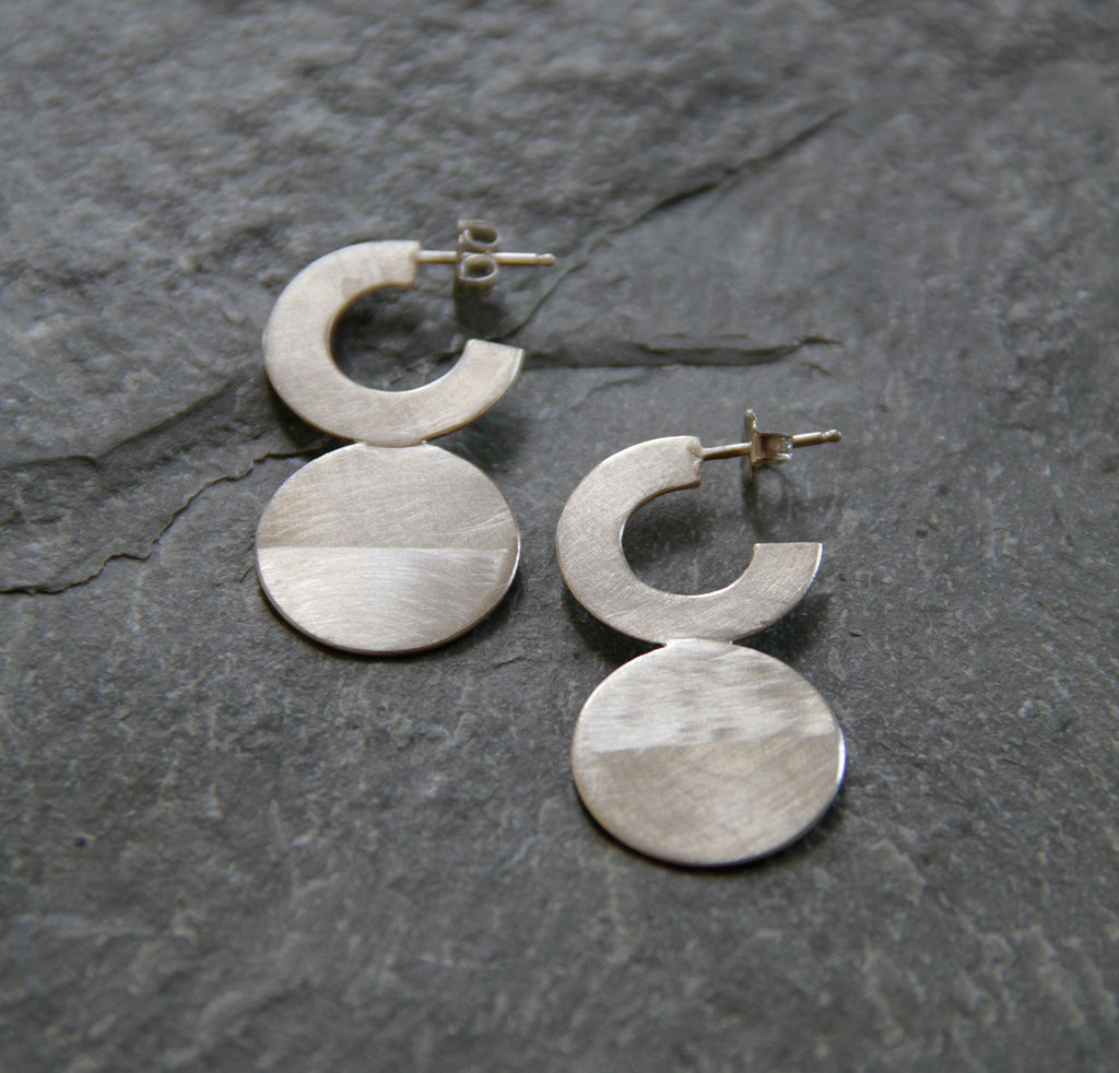Luna-C Earring,Earrings - didi suydam contemporary