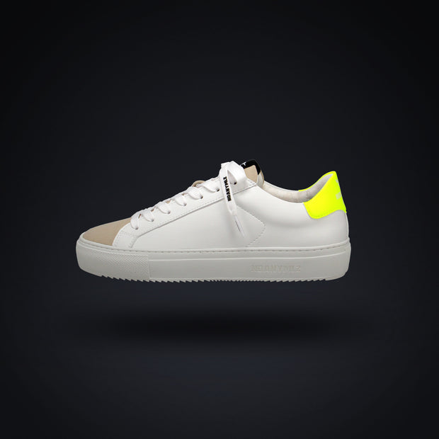 LEVEL O2 - WHITE / NEON YELLOW