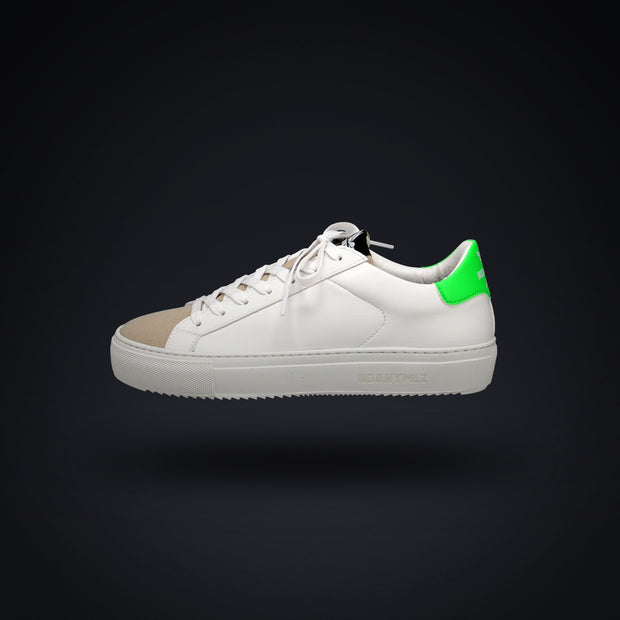 LEVEL O4 - WHITE / NEON GREEN