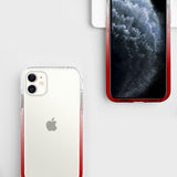 iPhone Red White Anti-Shock Cases