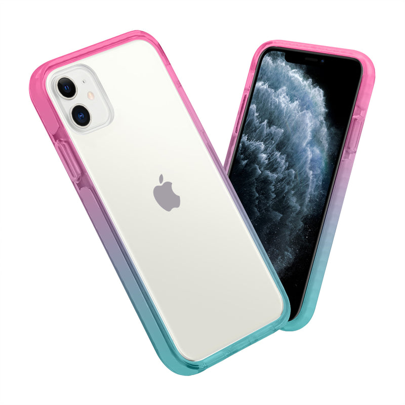 iPhone Pink Aqua Anti-Shock Cases