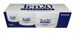 3 pack of Ten20 Neurodiagnostic Electrode Paste